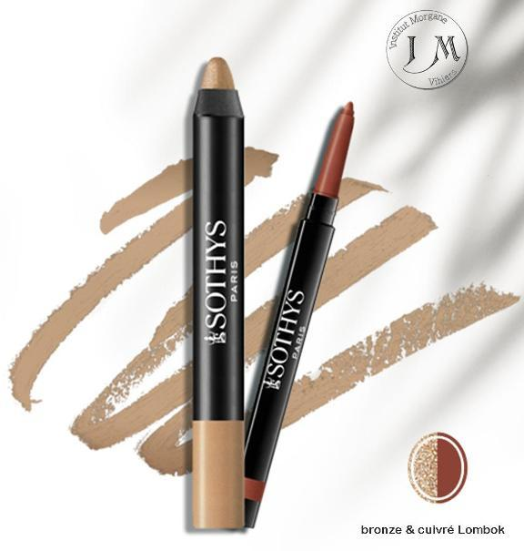Duo smokey yeux bronze cuivre lombok