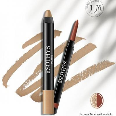 bronze cuivre lombok Duo smokey yeux  SOTHYS
