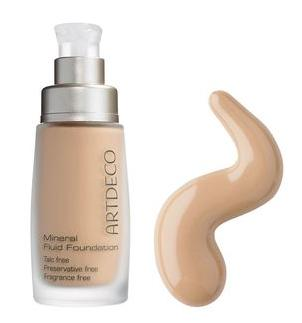 Mineral fluide foundation