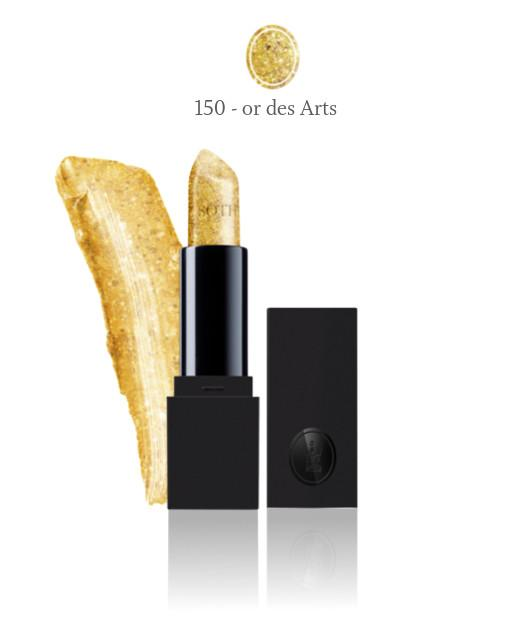 Visuel maquillage ral doux gold